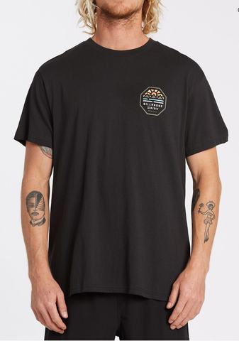 Polygon Short Sleeve Tee - Black
