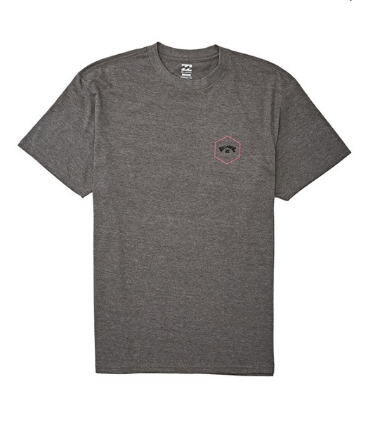 Access Short Sleeve T-Shirt - Dark Grey Heather