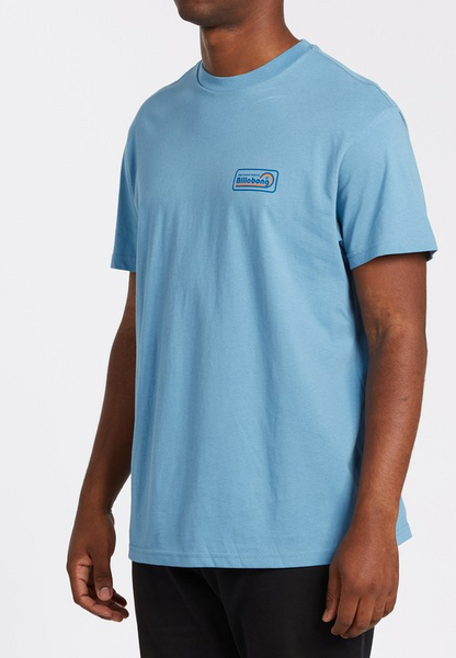 Ding Repair Short Sleeve Tee - Bay Blue