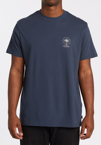 Double Tiger Short Sleeve Tee - Navy