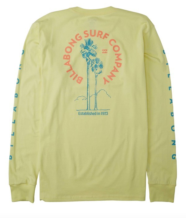 Los Angeles Long Sleeve T-Shirt - Beeswax