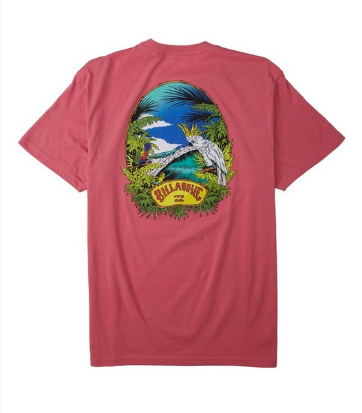 Billys Point T-Shirt - Retro Pink