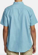 Load image into Gallery viewer, Crushed Short Sleve Shirt -  Bermuda Blue