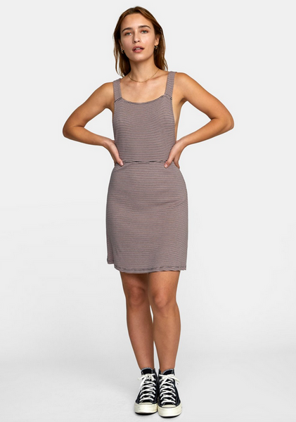 Bronwen Dress - Dusty Rose
