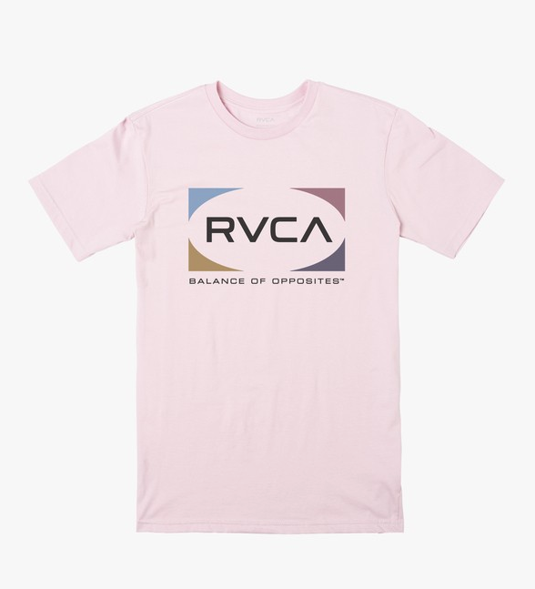 Quad Short Sleeve Tee - Pale Lilac