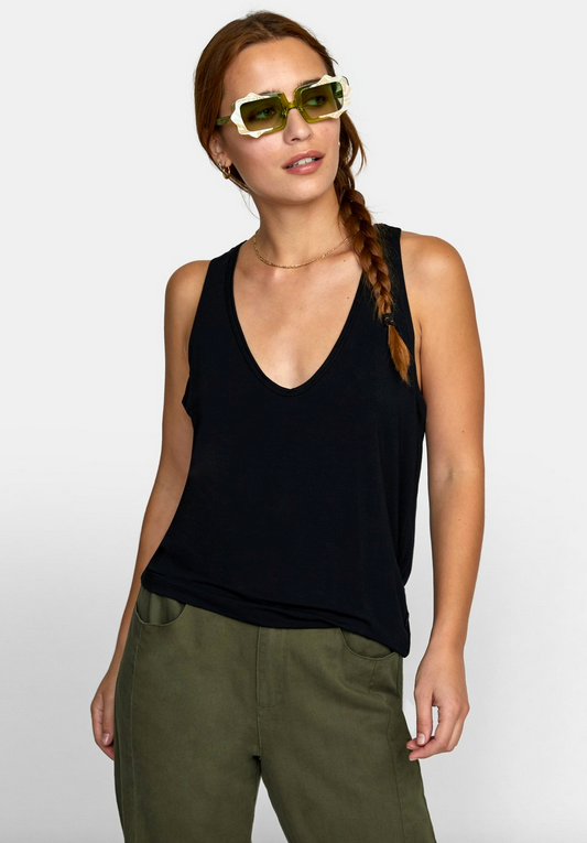 Minted Tank Top - Black