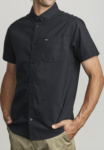 That'll Do Stretch Button-Up - Black
