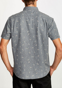 Dead Flag II Button-Up - Grey