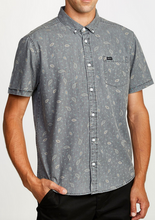 Load image into Gallery viewer, Dead Flag II Button-Up - Grey