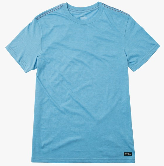 Solo Label Tee - Vintage Blue