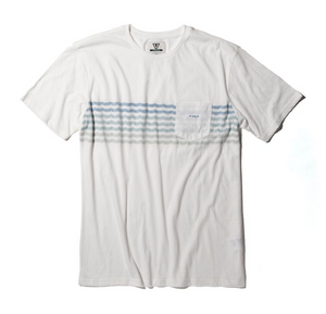 Surfrider Upcycled Knit Tee - Vintage White