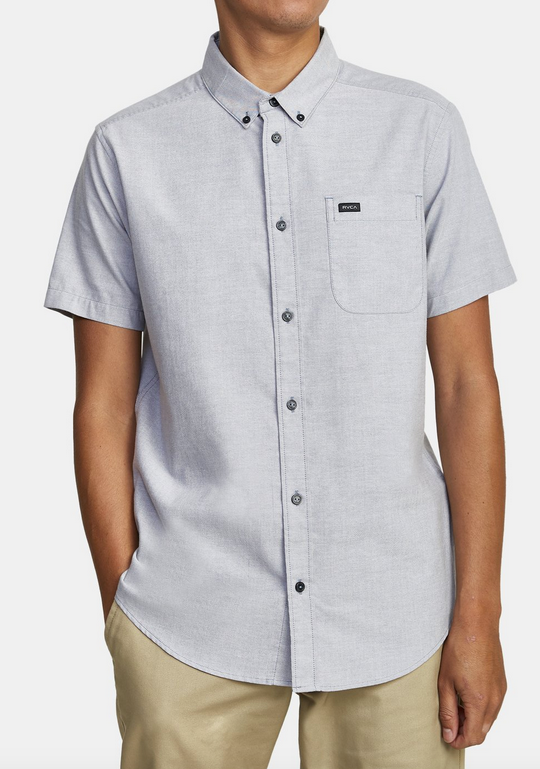 That'll Do Short Sleeve Shit - Oxford Blue