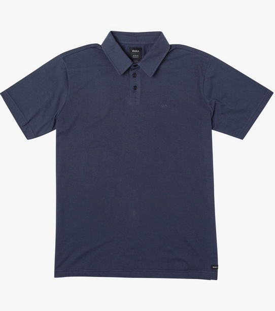 Sure Thing III Polo - Moody Blue