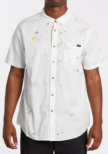 Sundays Mini Short Sleeve Shirt - Off White