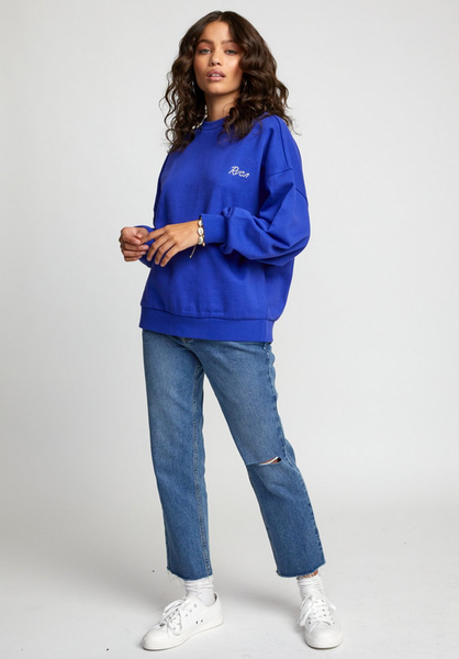 Scrypt Pullover Sweatshirt - Moroccan Blue