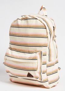 Schools Out Backpack - Whitecap Stripe