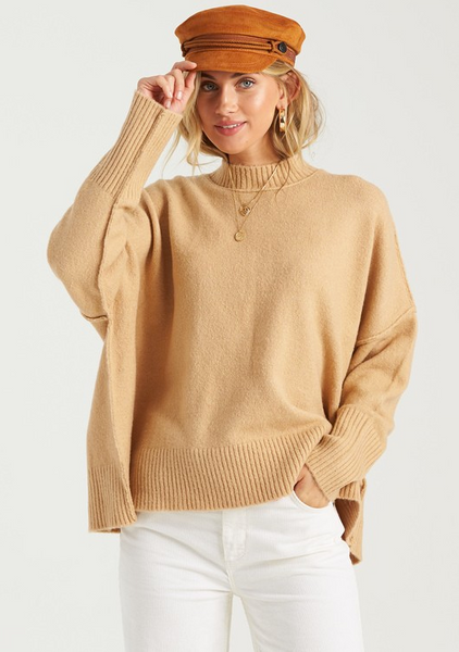 Endless Days Sweater - Camel
