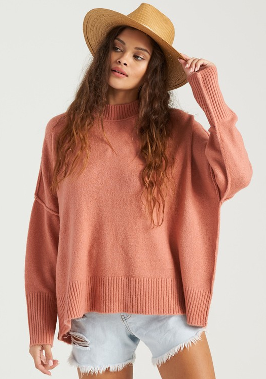 Endless Days Sweater - Dusty Rose