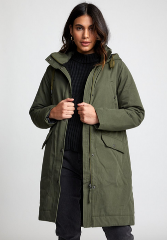 Runyon Parka Jacket - Army Drab