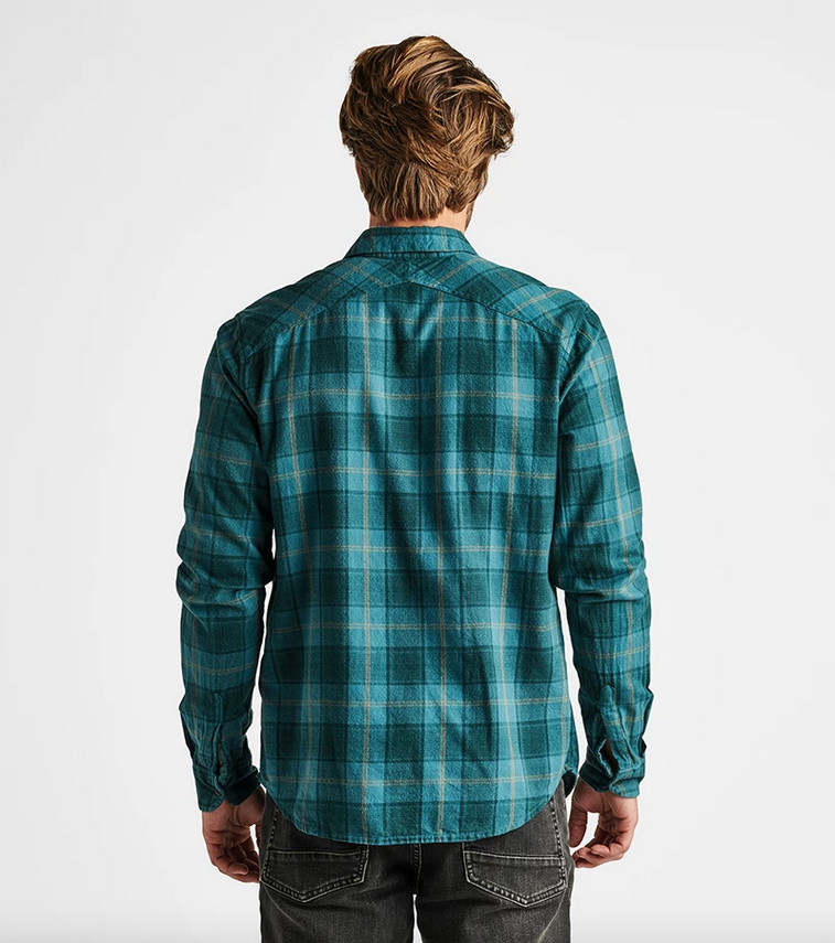 Cassidy Long Sleeve Flannel - EverGreen