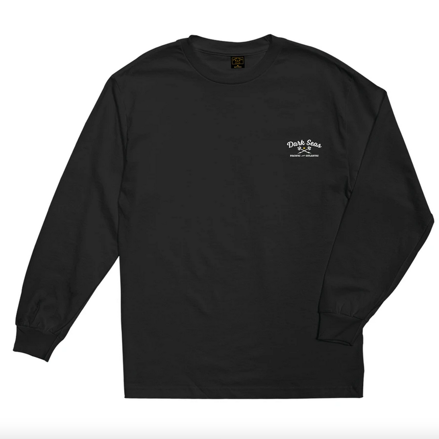 Brick & Mortar Long Sleeve Tee - Black