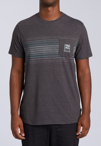 All Day Tri-Blend T - Black Heather