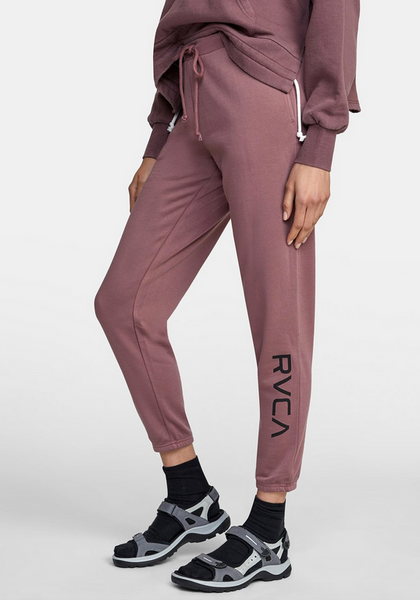 Big RVCA Sweatpant - Mauve