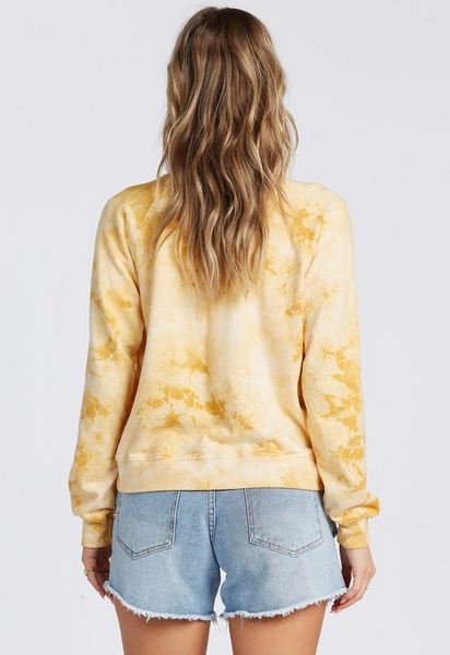 Sun Shrunk Sweatshirt - Gold Dust