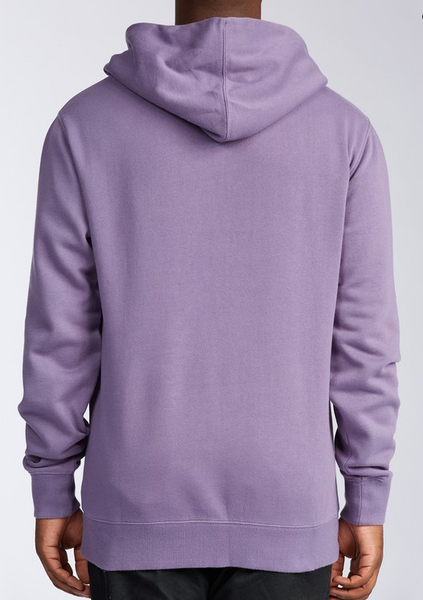 Wave Washed Pullover Hoodie - Purple Haze