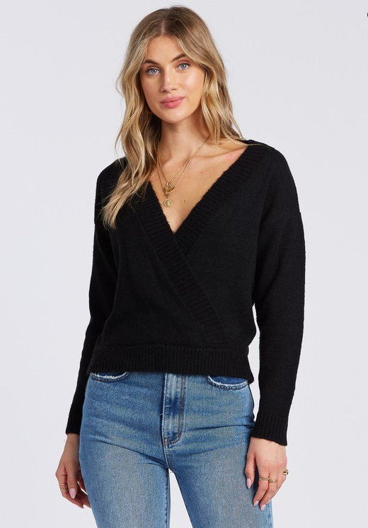 Carry On Sweater - Black
