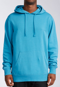 Wave Washed Pullover Hoodie - Ocean Blue