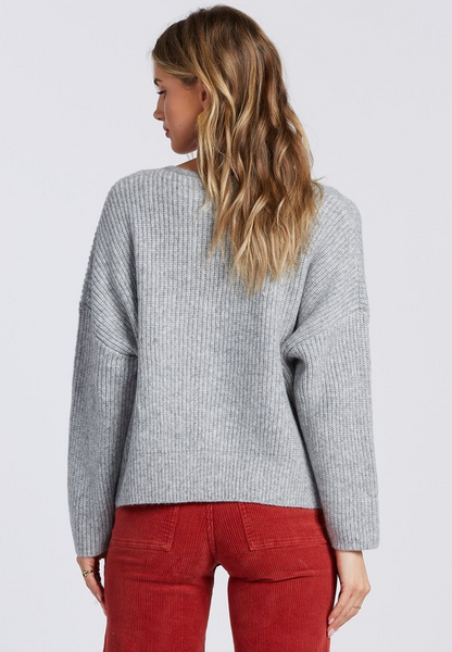 Its Me Sweater - Athletic Grey