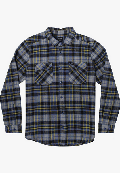 Operatpr Flannel Long Sleeve - Classic Blue