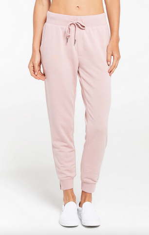 Cypress Loop Terry Jogger - Pink Blossom