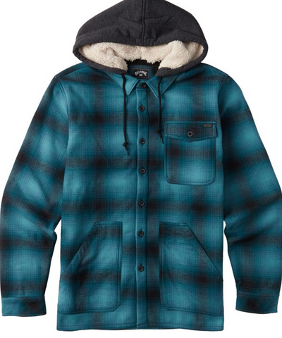 Furnace Bonded Flannel - Pacific