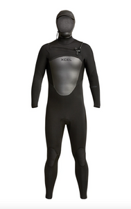 Mens Axis Hooded 5/4 Fullsuit
