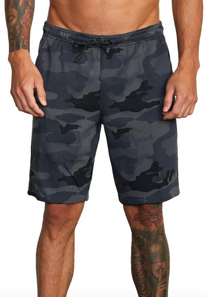 "VA Sport IV 17"" Sweat Short - Camo"