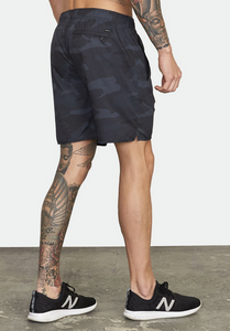 "Yogger IV Recycled 17"" Workout Short - Camo"