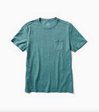 Load image into Gallery viewer, Well Worn Midweight Organic Knit Tee - Marine Blue