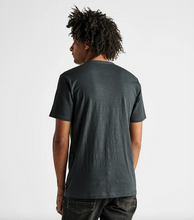 Load image into Gallery viewer, Well Worn Midweight Organic Knit Tee - Charcoal
