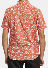 Load image into Gallery viewer, Tropical Disaster Short Sleeve Shirt - Rust