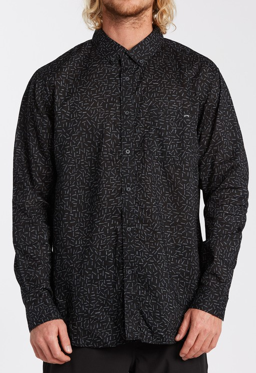 Sundays Mini Long Sleeve Shirt - Stealth