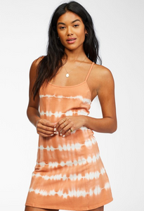 Easy On Me Knit Dress - Sunburnt