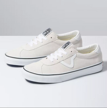 Load image into Gallery viewer, Suede Vans Sport - White