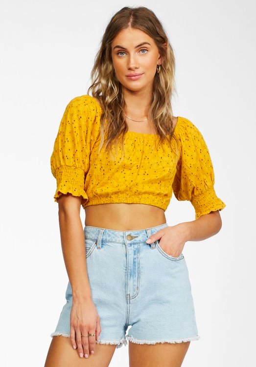 Summer Girl Top - Sunflower