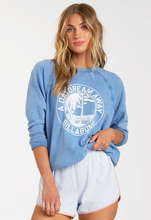 Load image into Gallery viewer, Keep Tryin Pullover Sweatshirt - Dutch Blue