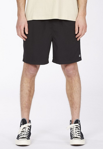 "All Day Layback Boardshort 16"" - Black"