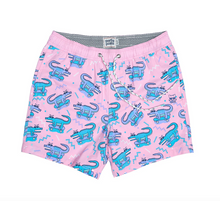 Load image into Gallery viewer, 8 Bit Gator Boy Boardshort
