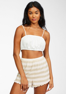 Breeze By Knit Shorts - Neutral