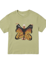 Load image into Gallery viewer, Dana Butterfly Short Sleeve Tee - Sage